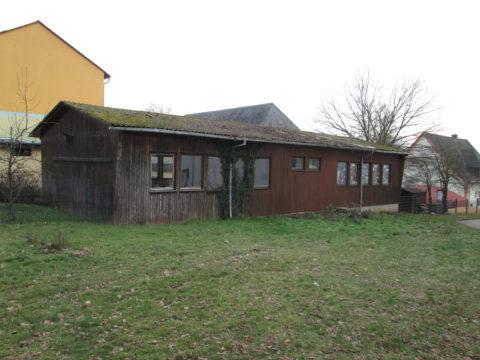 Wittlich-Wengerohr, Rückbau eines Zweiraum-Schulgebäudes