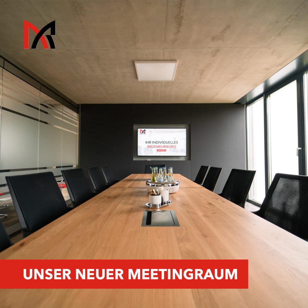 Neuer Meetingraum - Ingenieurbüro Reihsner in Wittlich