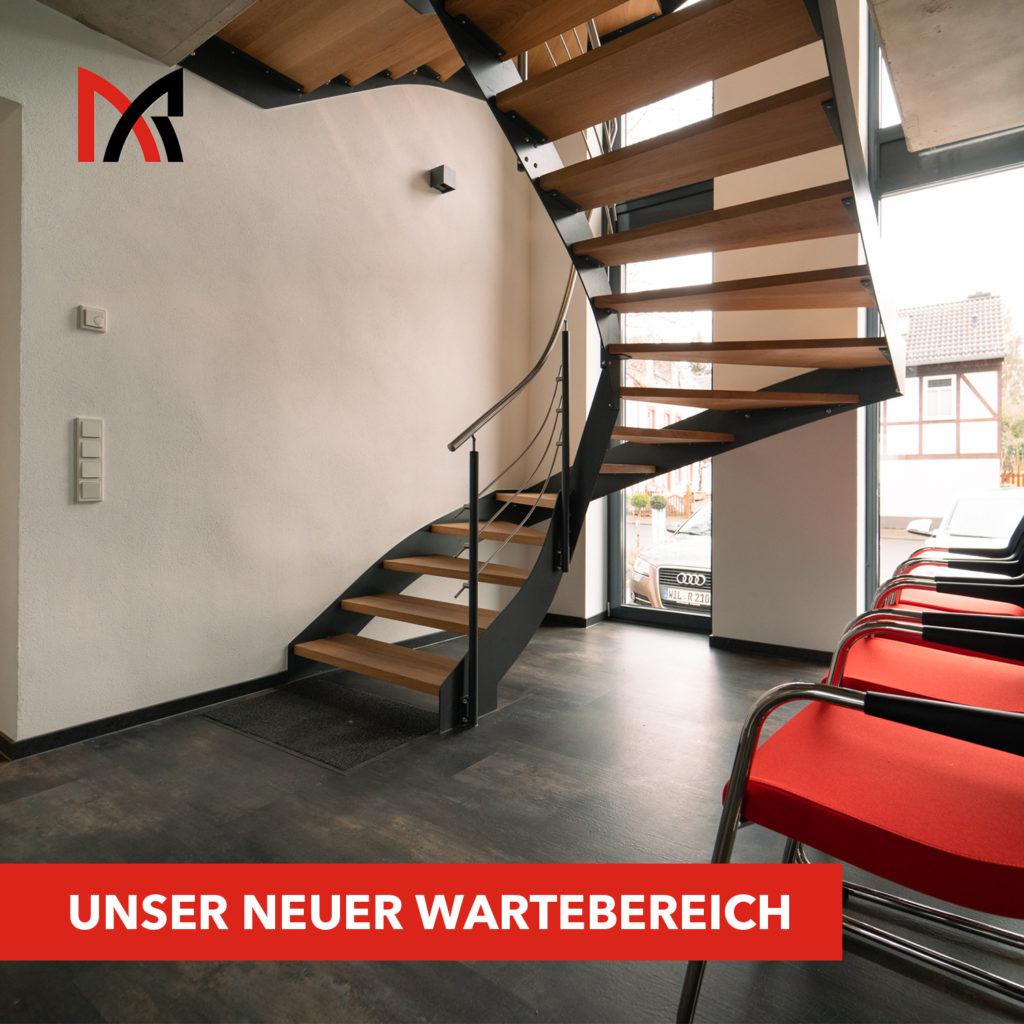 Unser neuer Eingangsbereich - Ingenieurbüro Reihsner in Wittlich