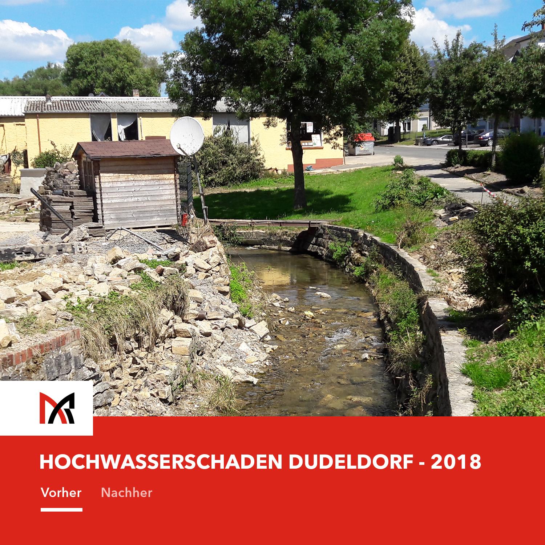 Hochwasserschutz Dudeldorf- Ingenieurbüro Reihsner in Wittlich